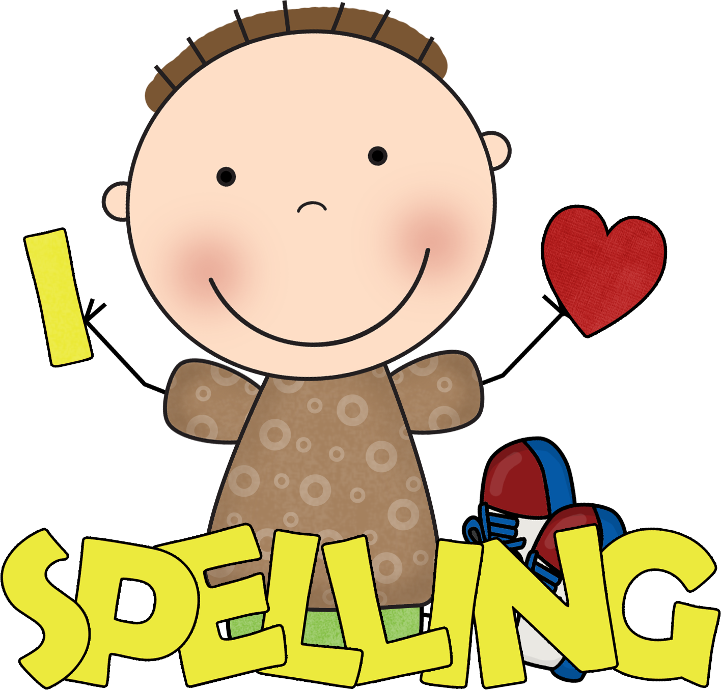 word work clipart student