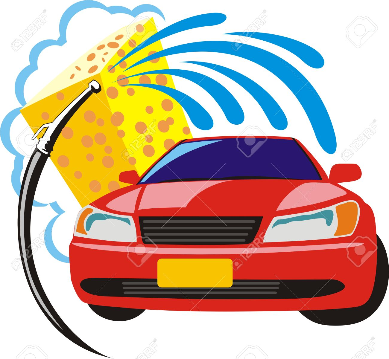 car wash clipart royalty free