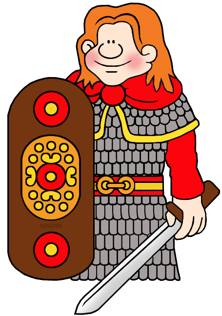 celts clipart celtic warrior