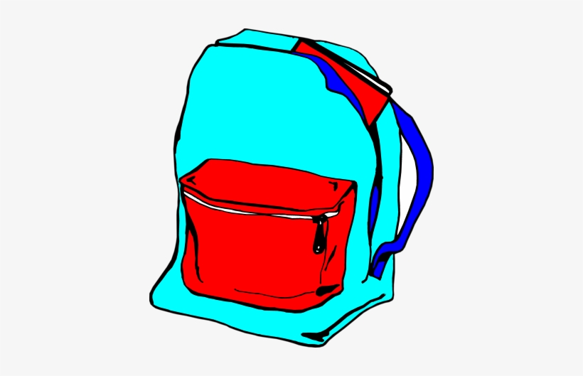 Backpack clipart clear background.