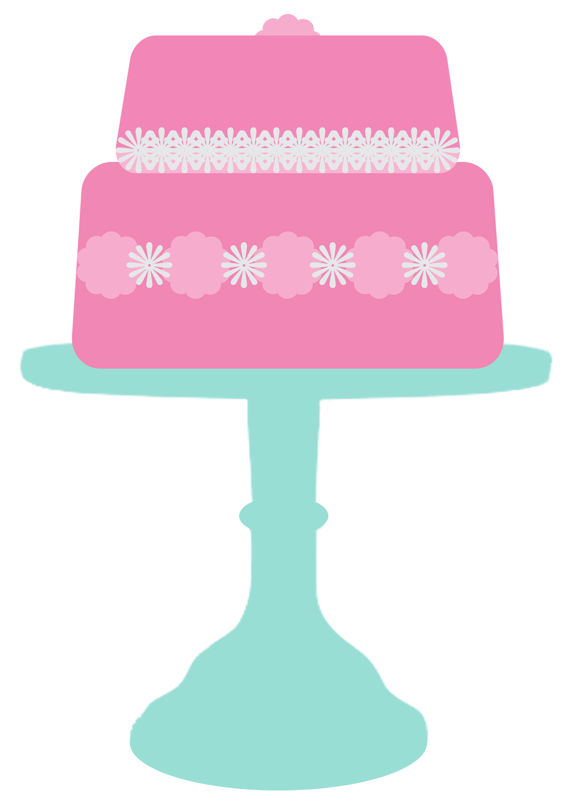 Cake clipart template.