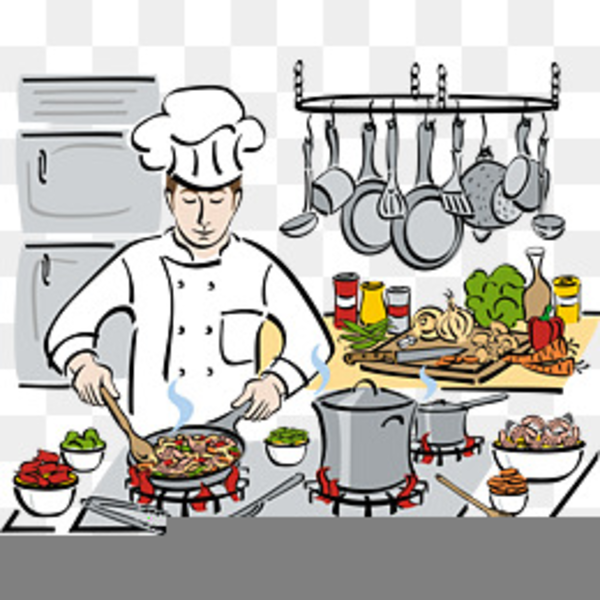 cooking clipart chef