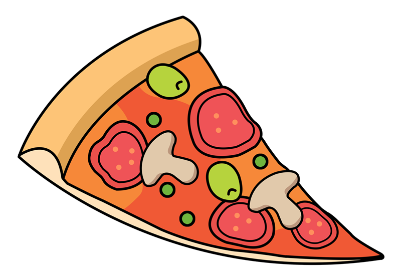 italian clipart pizza slice