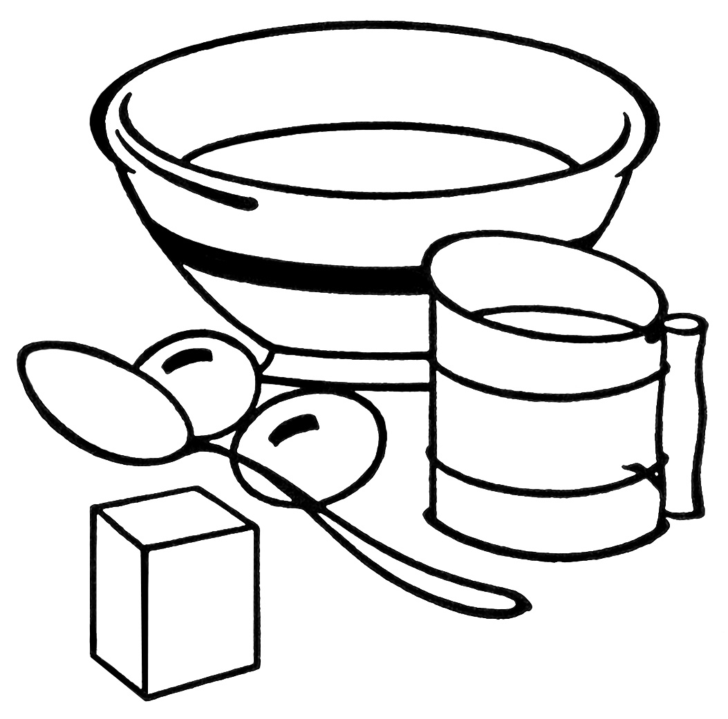cooking clipart black