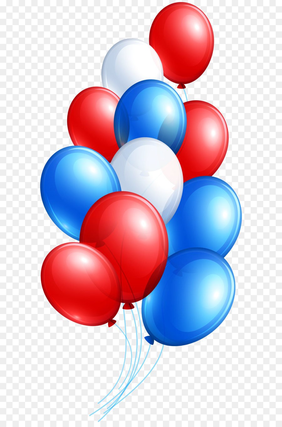 Balloon clipart 4th july.