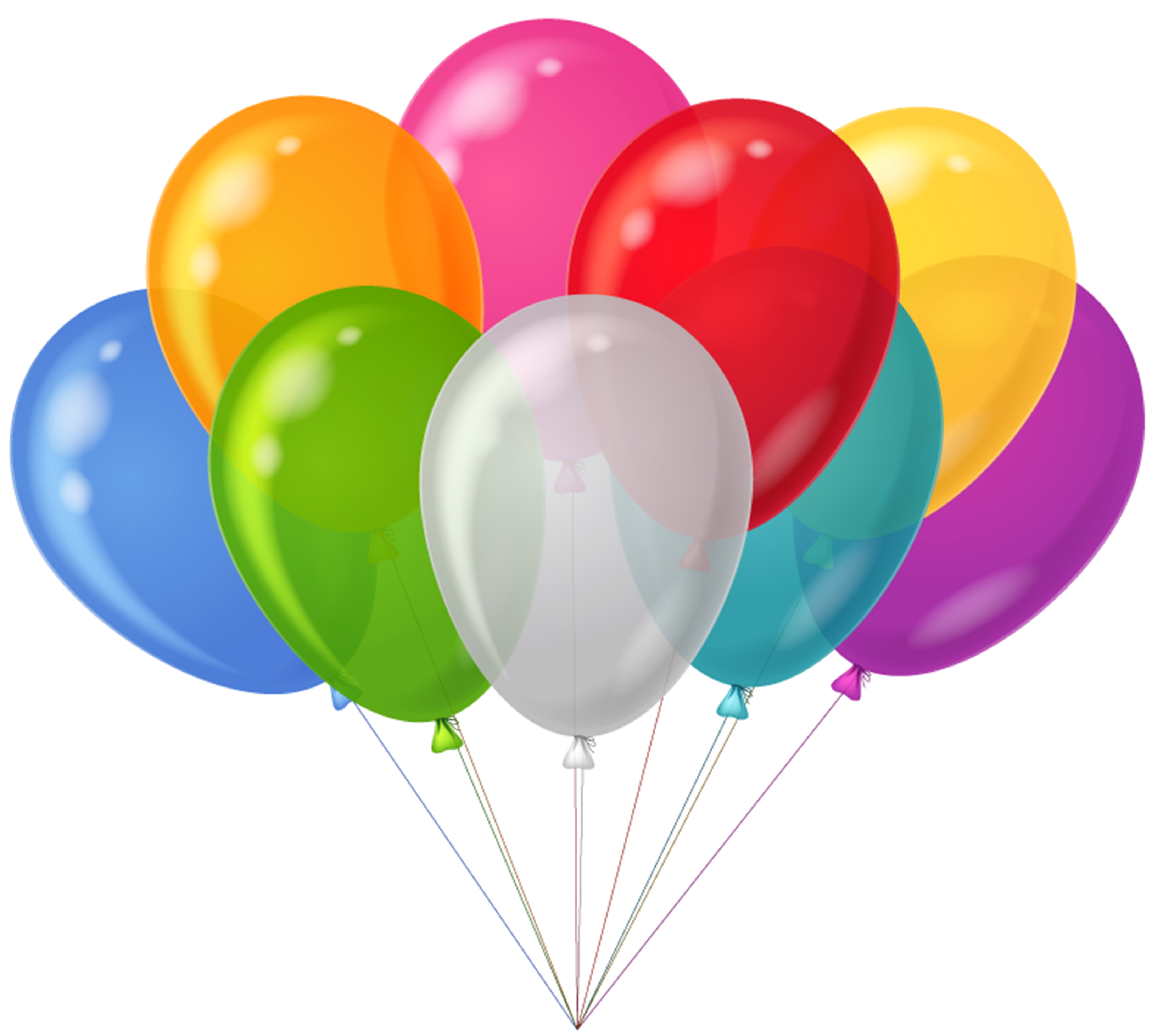 balloons clipart transparent background