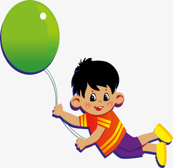 Balloon clipart child.