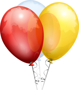 Balloon clipart clear background.