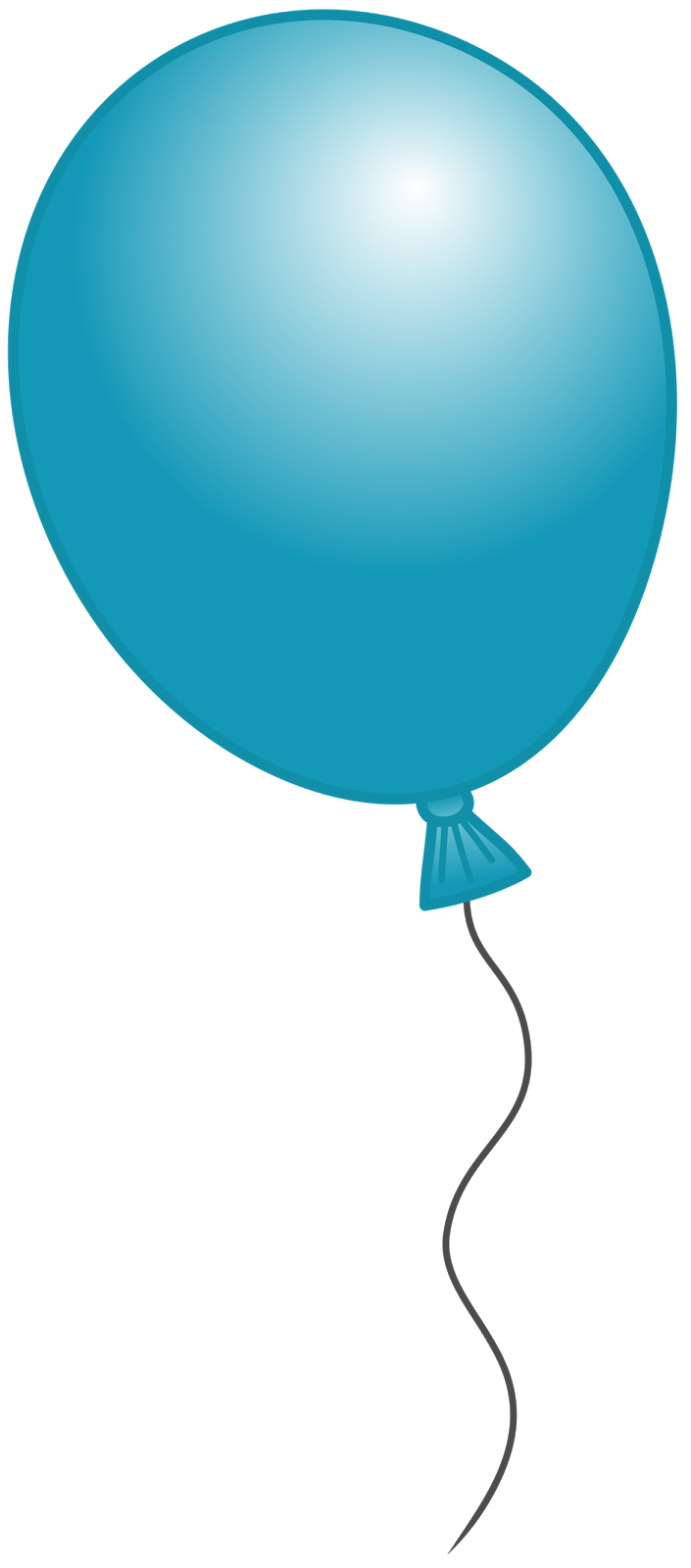 clipart balloons single