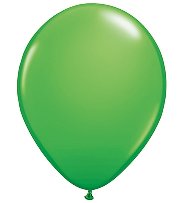 Balloon clipart dark green.