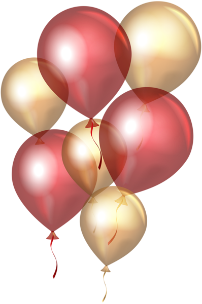 Balloon clipart gold glitter.