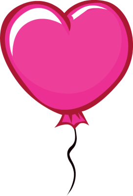 Balloon clipart shape.