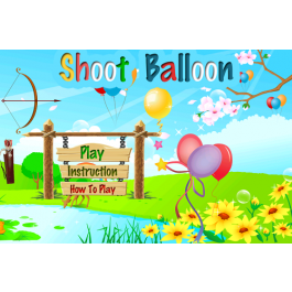 Balloon clipart shooting.