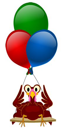 Balloon clipart thanksgiving.