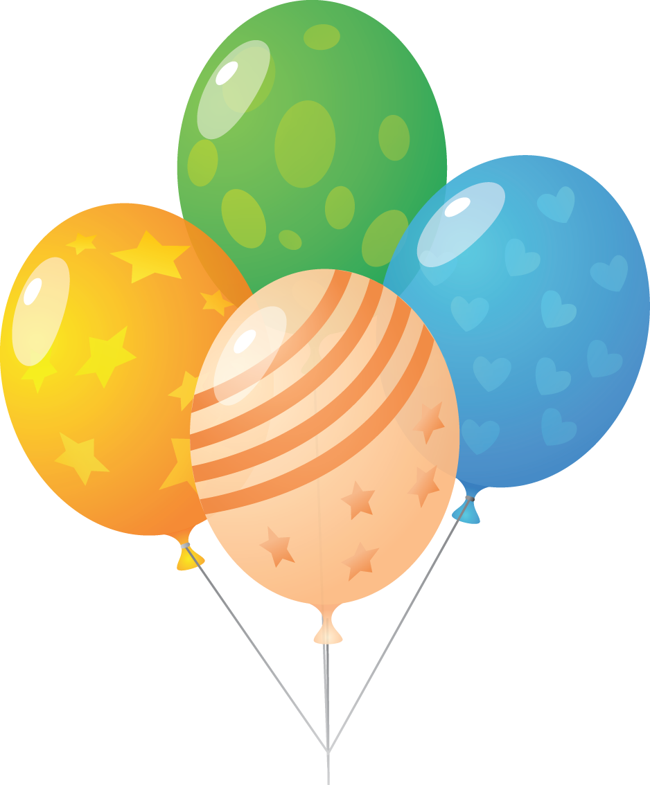 Balloon clipart transparent background.