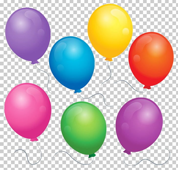 Balloons clipart colored.