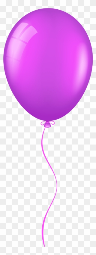 Balloons clipart violet.
