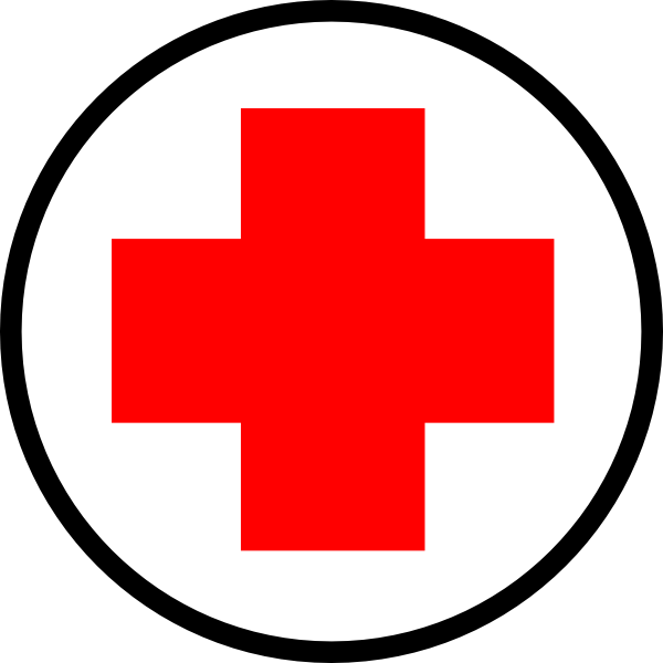 red cross clipart first aid