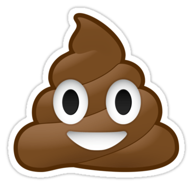 poop clipart smiley