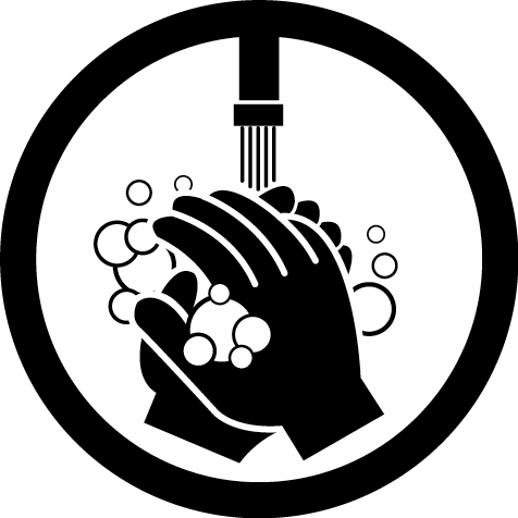 wash hands clipart character