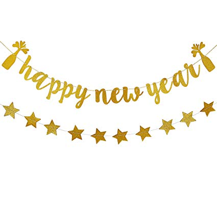 happy new year 2019 clipart banner