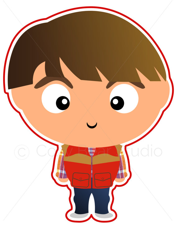 stranger things clipart simple