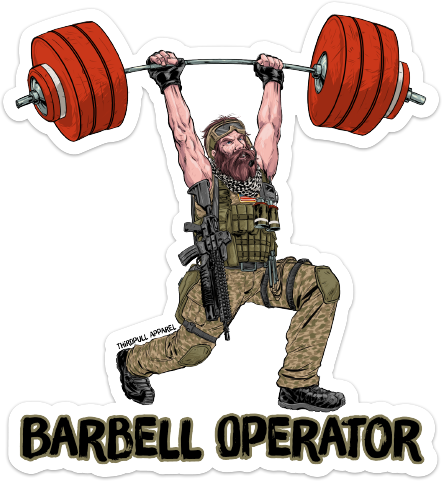 Barbell clipart empty.