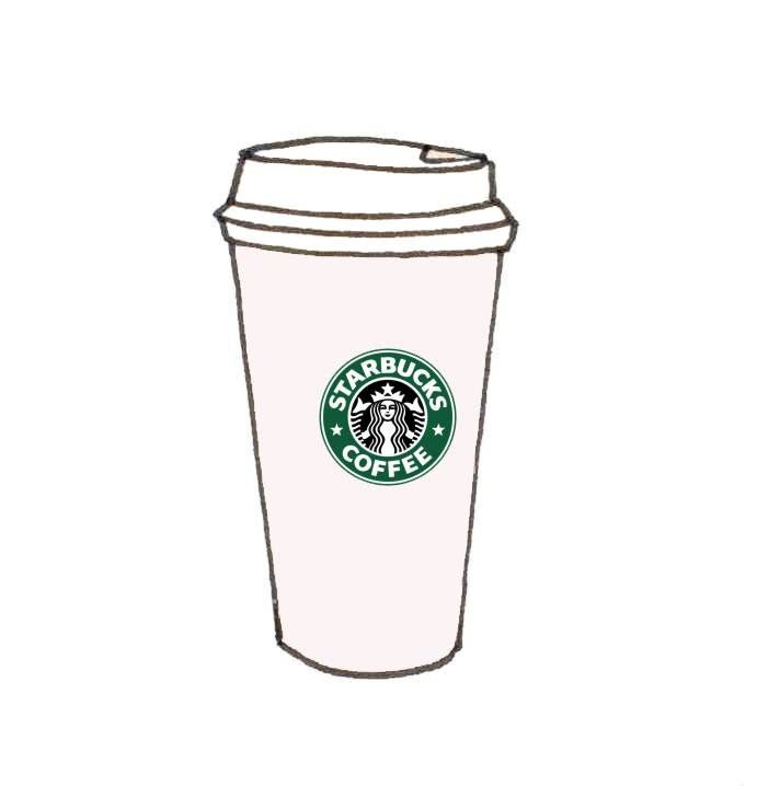 starbucks cup clipart girly