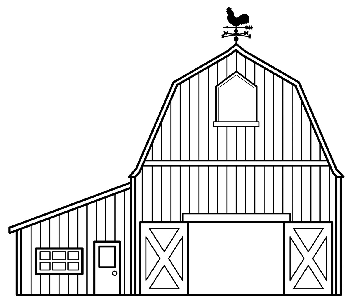 house outline clipart printable