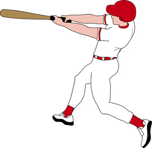 Baseball clipart batter.