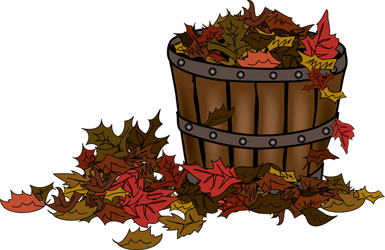 Basket clipart autumn.