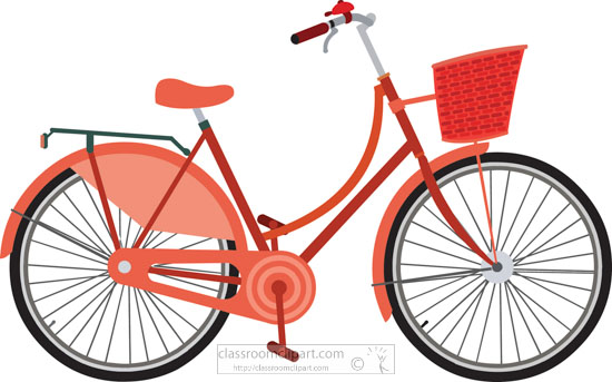 Bicycle clipart.