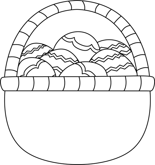 easter egg clipart blank