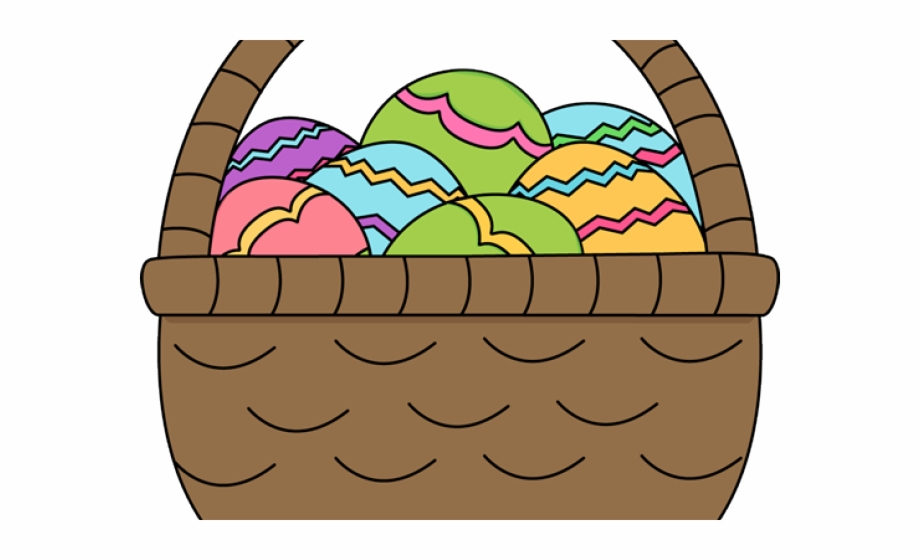 Basket clipart cute.
