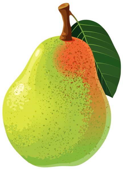 Basket clipart pear.