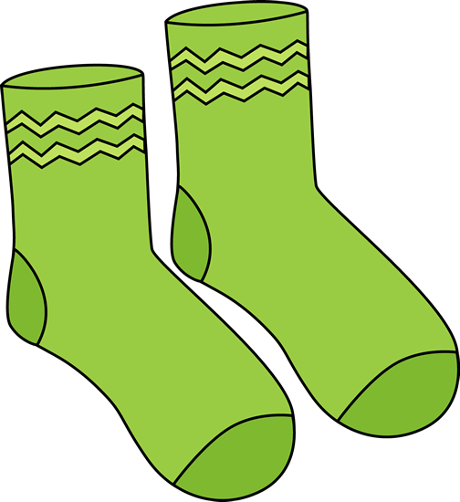 sock clipart cute
