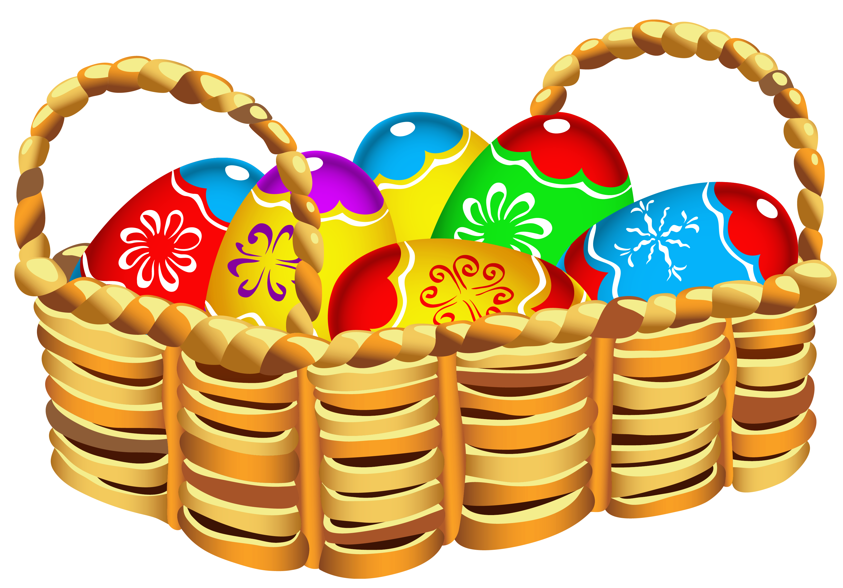 Movies clipart basket.