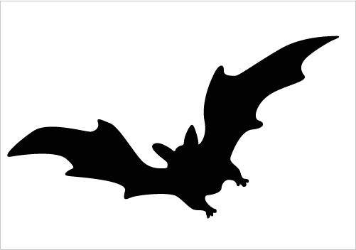 Bat clipart flying.