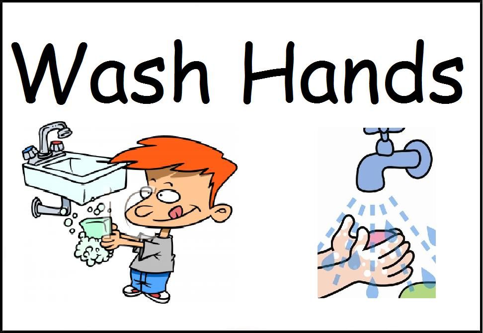 wash hands clipart hand washing poster