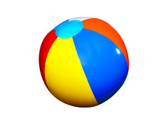 Beach ball clip art printable.