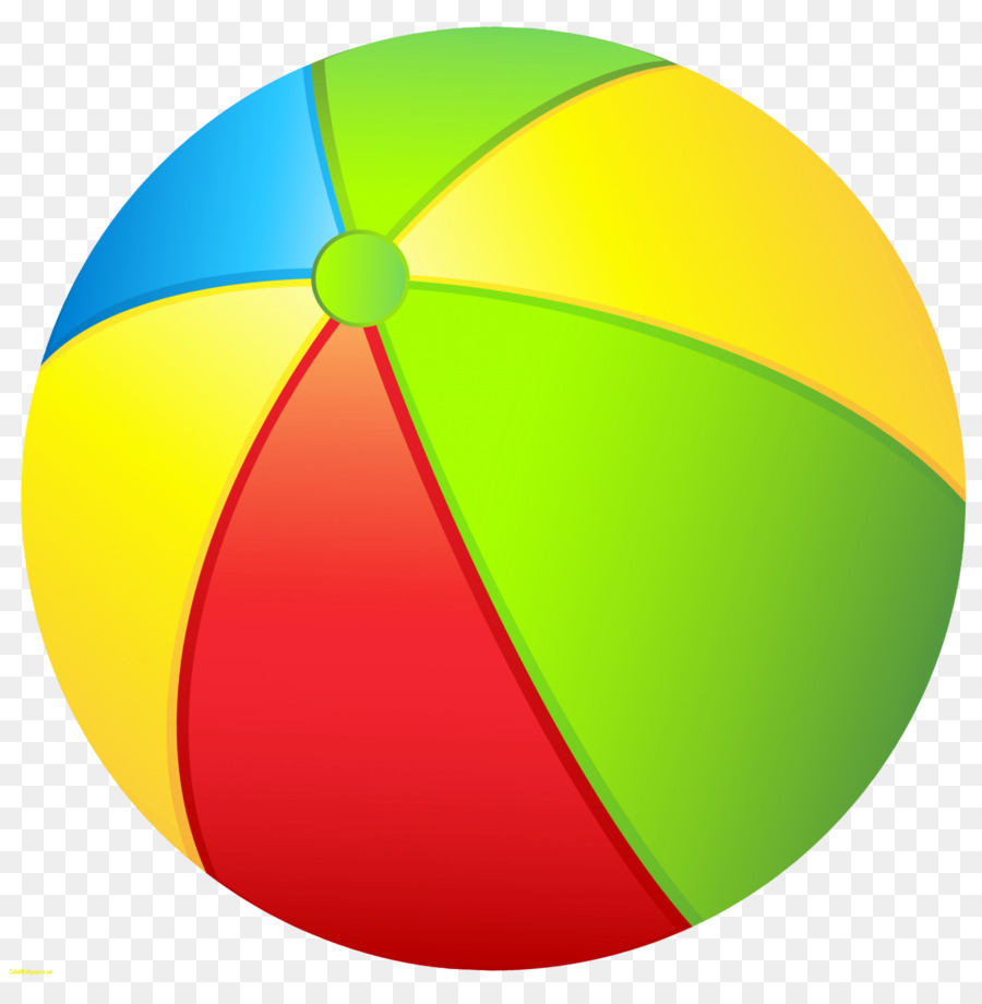 Beach ball clip art sphere.