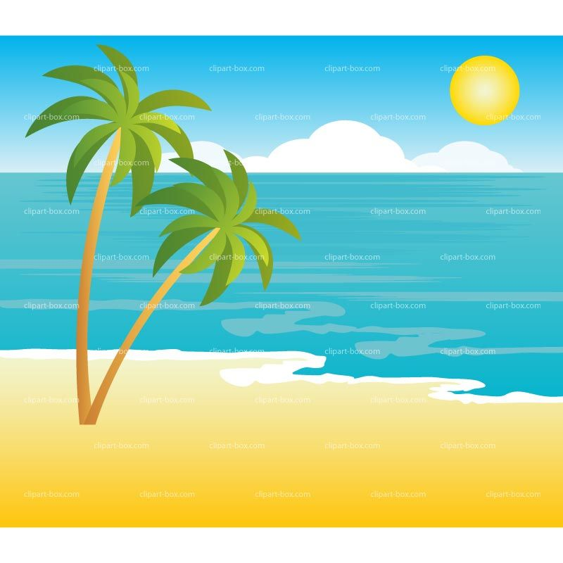 picture clipart beach