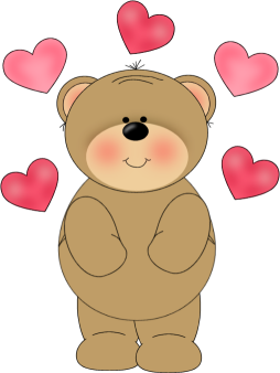 Bear clipart love.