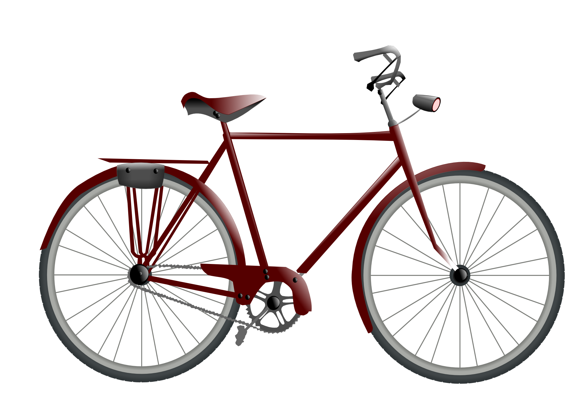 Bicycle clipart antique bike.