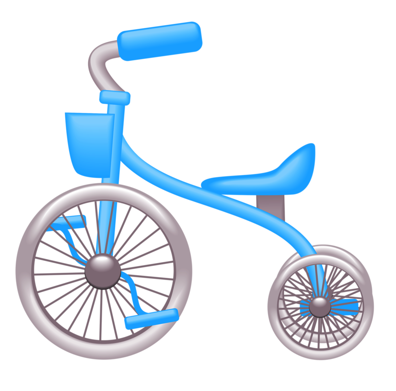 Bicycle clipart toy bike.