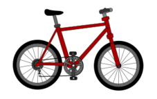 Bicycle clipart bicycle drawing.