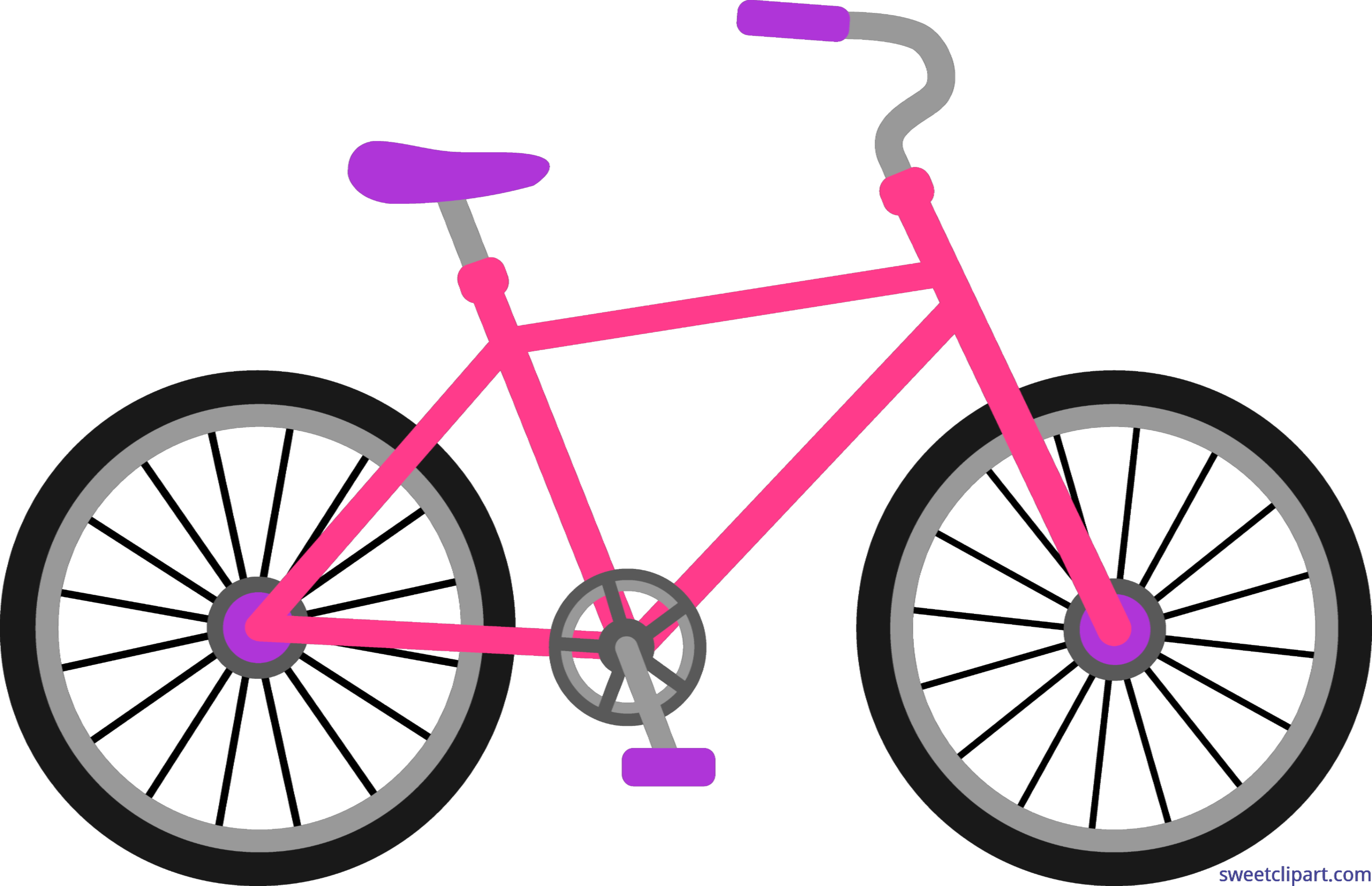 Bicycle clipart bicycle frame.