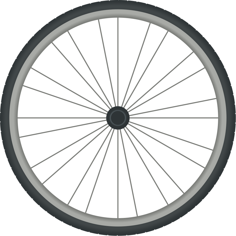 Bicycle clipart bike spinning.
