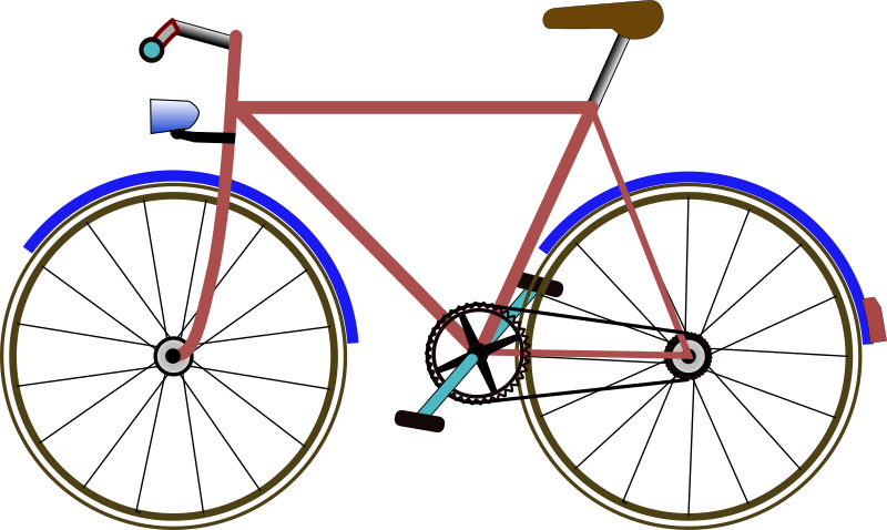 Bicycle clipart bycicle.