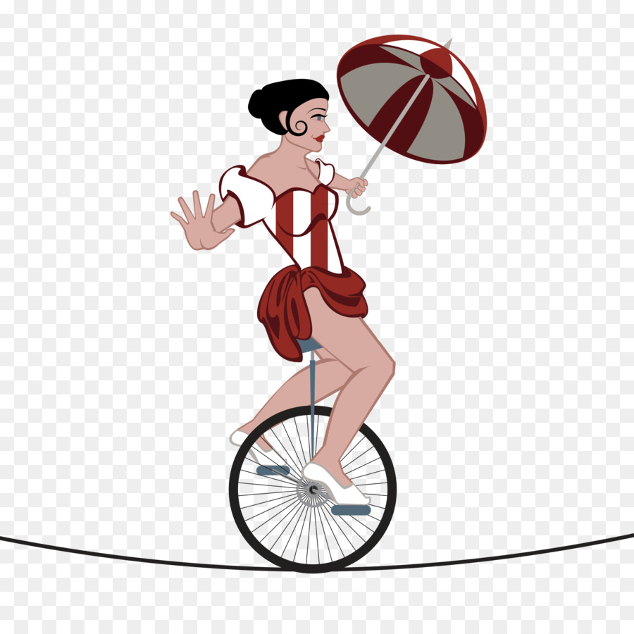 Bicycle clipart circus.